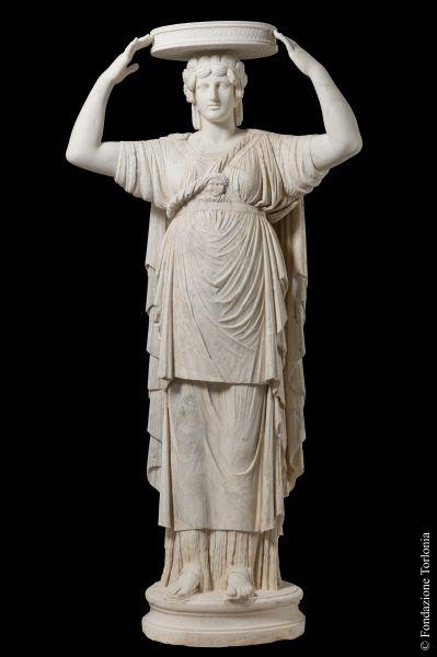 Torlonia Caryatid, Eleusian-type Caryatid