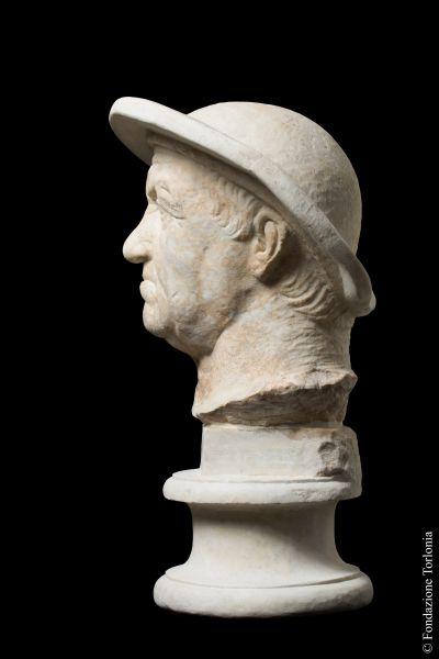 So-called Eutidemos of Battriana, Male portrait, known as <i>Eutidemo of Battriana</i>