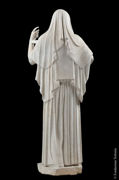 Statue of deity with peplum, known as <i>Hestia Giustiniani</i>