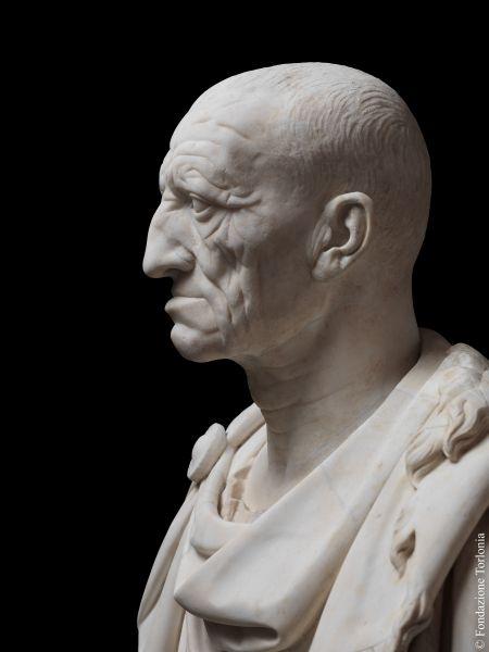 Ritratto maschile su busto moderno, detto <i>Vecchio da Otricoli</i>